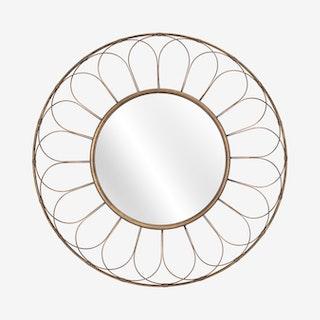 Alida Mirror - Gold