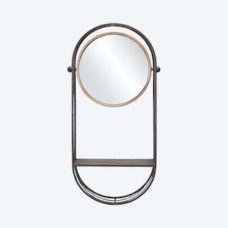 Saroni Mirror Shelf - Grey