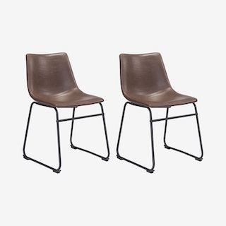 Smart Dining Chairs - Vintage Espresso - Set of 2