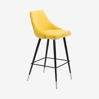 Piccolo Bar Chair - Yellow