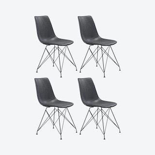 Pelham Dining Chairs - Vintage Black - Set of 4