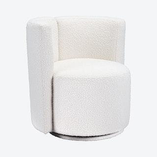 Prague Accent Chair - White