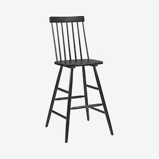 Ashley Bar Chair - Black