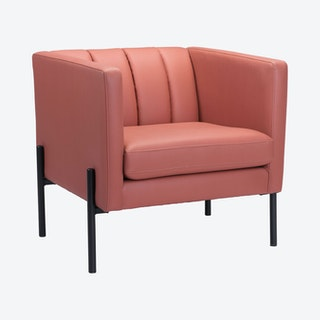 Jess Accent Chair - Rust