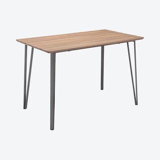 Doubs Counter Table - Brown