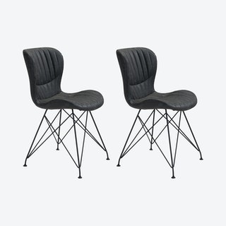 Gabby Dining Chairs - Vintage Black - Set of 2