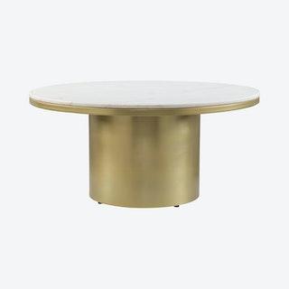 Daschanelle Coffee Table - Brass
