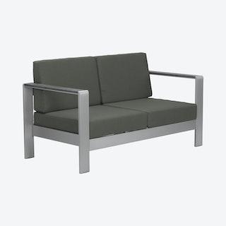 Cosmopolitan Outdoor Sofa Cushion - Dark Grey
