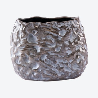 Stones Vase - Brown / White