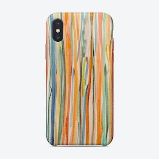 Happy Stripes Phone Case
