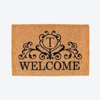 Letter T - Kingston Welcome Doormat