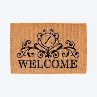 Letter Z - Kingston Welcome Doormat