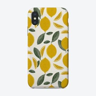 Lemons Cream Phone Case