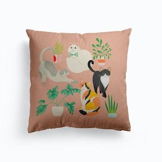 Cats Canvas Cushion