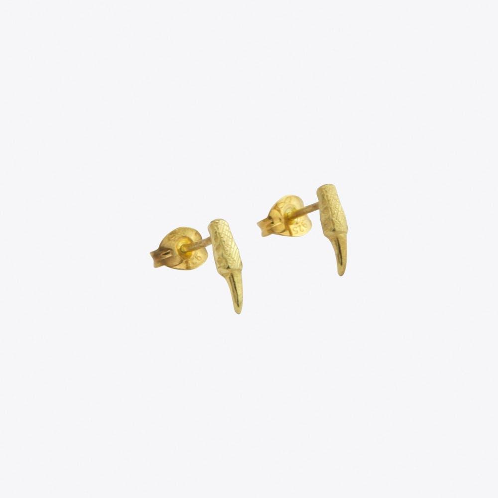 Talon Earrings in Gold
