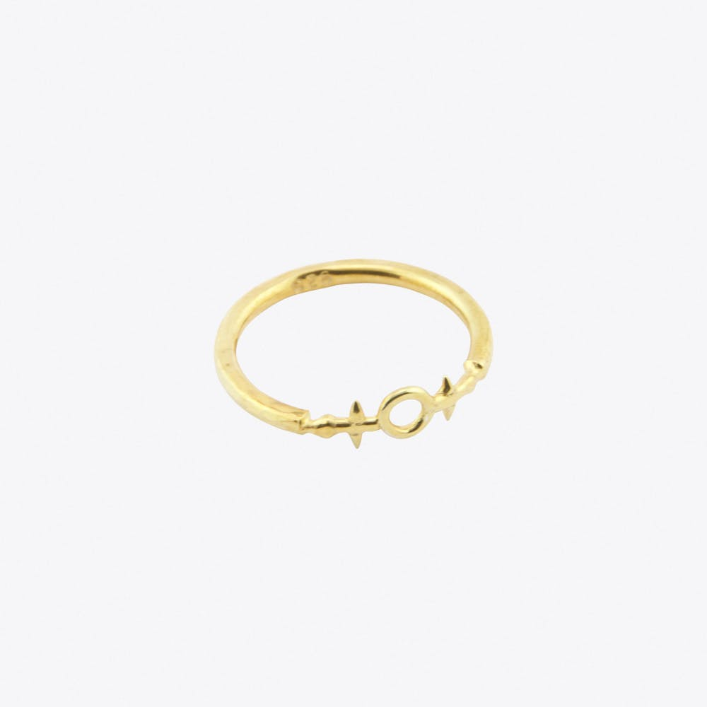 Helm of Awe Ring Gold-Plated