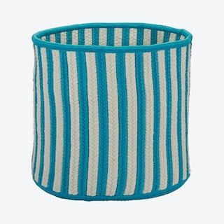 Baja Stripe Basket - Teal