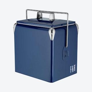 Vintage Cooler - Blue