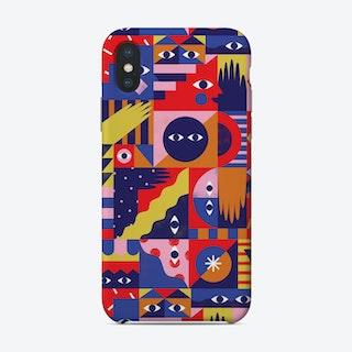 Happy Quilt Phone Case