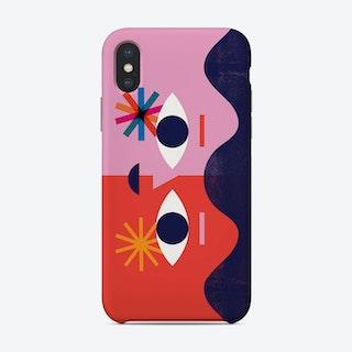 Happy Face Phone Case