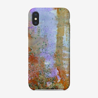 Abstract Copper And Lilac Phone Case