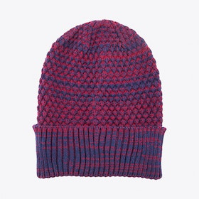 Oscar Beanie in Red Melange