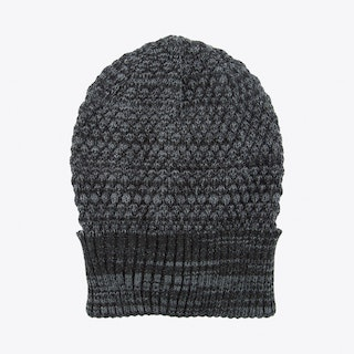 Oscar Beanie in Grey Melange