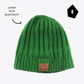 Bluetooth Audio Beanie in Green