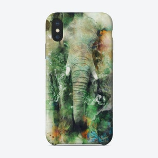Elephant 2 Phone Case
