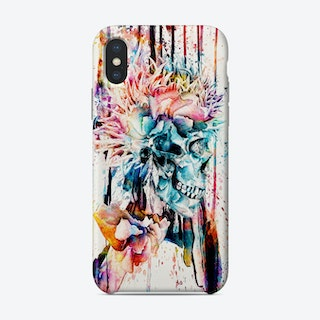 Abstract Skull 2 Phone Case
