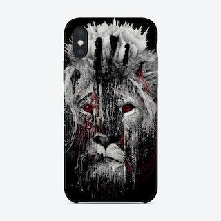 Lion Bw Phone Case