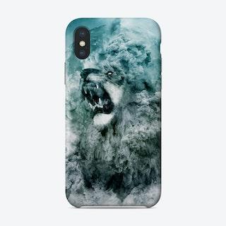 Lion Blue Phone Case