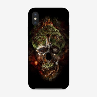Skull Castle 3 Phone Case