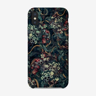 Skulls And Snakes Phone Case