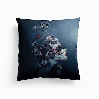 Day To Night Canvas Cushion