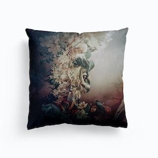 Owl Fantay Canvas Cushion