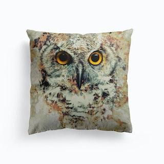 Owl 2 Canvas Cushion