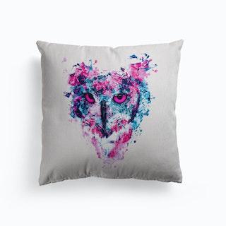 Owl 4 Canvas Cushion