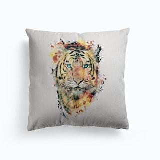 Tiger 2 Canvas Cushion