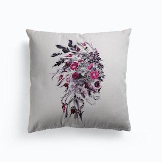 Skull Chief Canvas Cushion