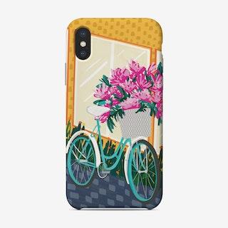 Flower Bike Phone Case