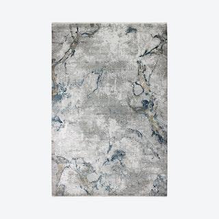 Gemma Area Rug - Grey / Blue