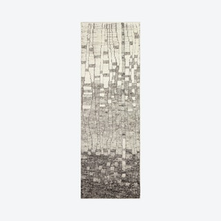 Jolie Runner Rug - Ivory / Grey