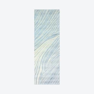 Markus Runner Rug - Light Blue