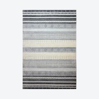 Zvi Area Rug - Ivory / Grey