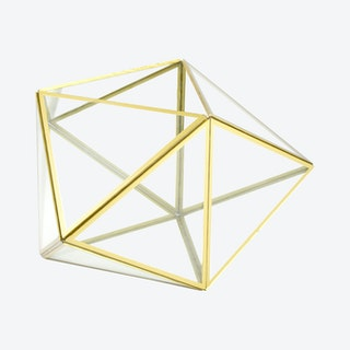 Geometric Terrarium - Gold