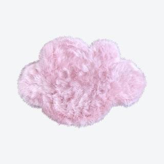 Cloud Area Rug - Pink - Faux Sheepskin - Machine Washable
