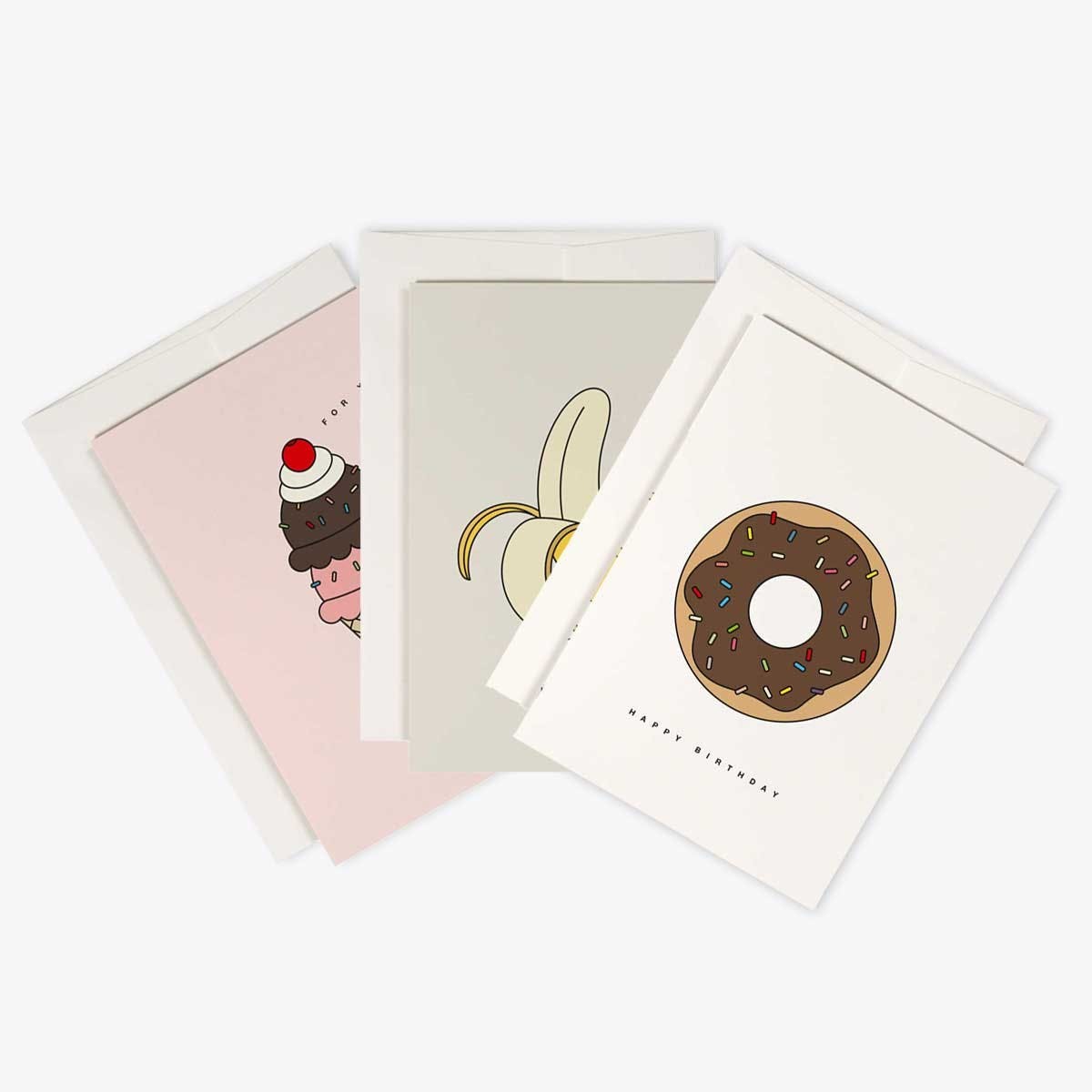 Sugar Greeting Cards Set of 3