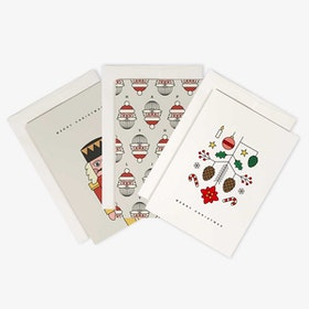 Christmas Greeting Cards Set of 3