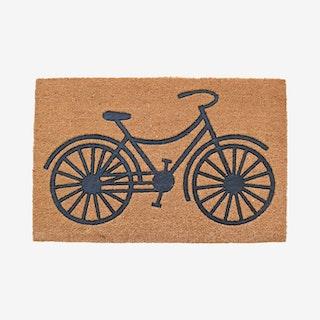 Embossed Bicycle Door Mat